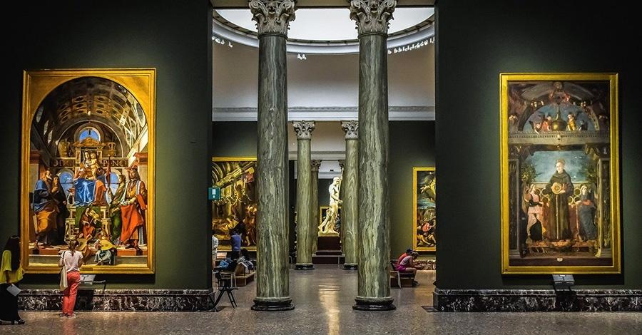 Opere d'arte a Milano: Pinacoteca di Brera
