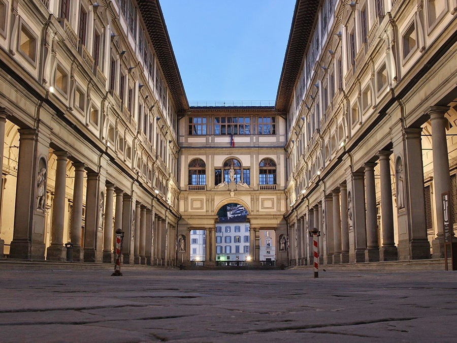Top attractions in Florence (Italy): Uffizi Gallery