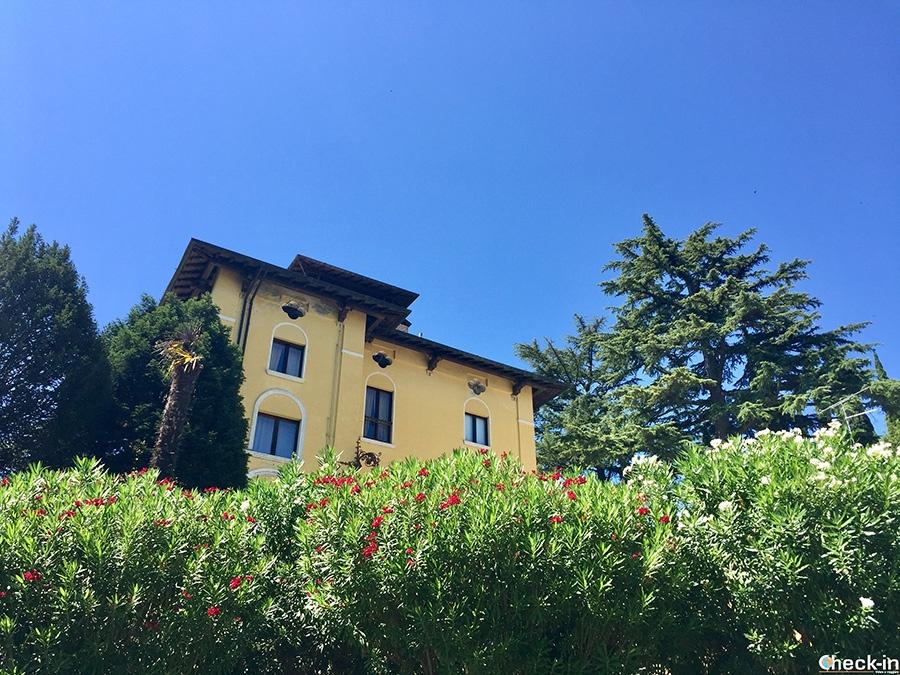 Villa dove abitò Maria Callas vicino al centro di Sirmione - Lago di Garda, Italia