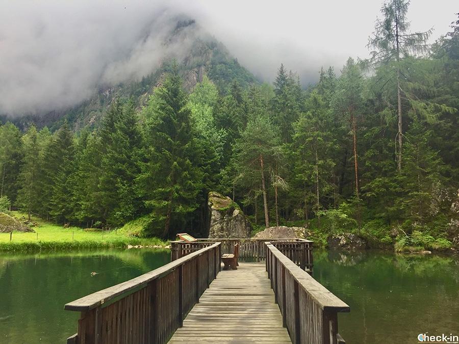 Laghi alpini nella valle Ötztal: Habicher See