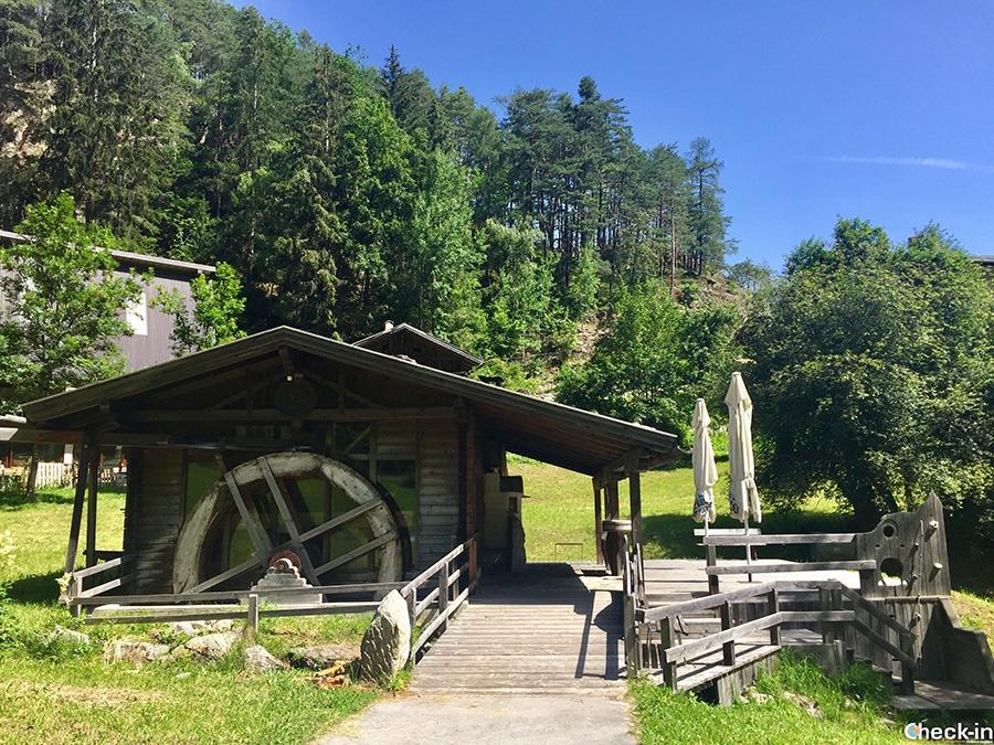 Mulino Piburg Mill vicino a Oetz - Tirolo, Austria