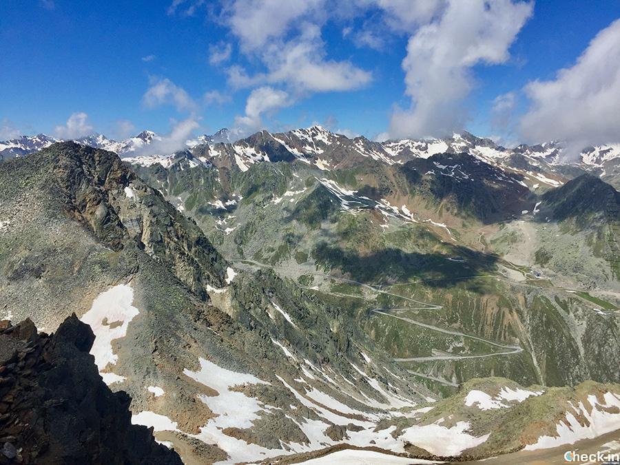 Ghiacciaio del Rettenbach e pista della Coppa del Mondo di sci alpino - Sölden, Tirolo