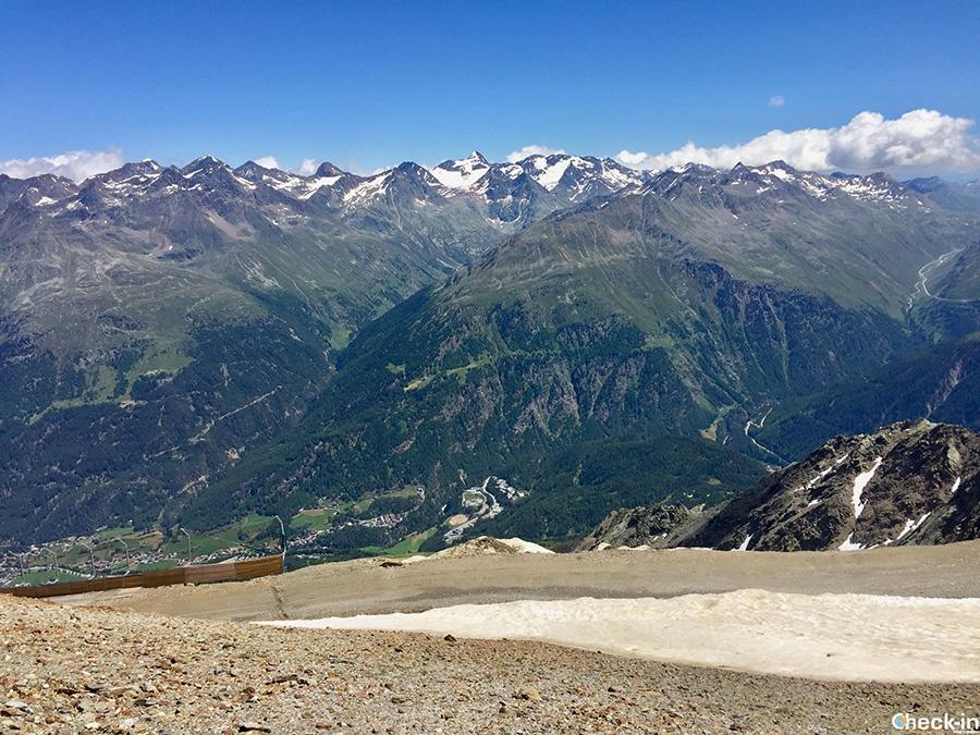 Escursione sul monte Gaislachkogel (3.040 m) a Sölden