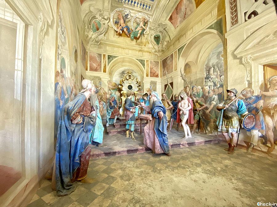 Cappelle della Vita e Passione di Cristo al Sacro Monte di Varallo (Valsesia, Piemonte)