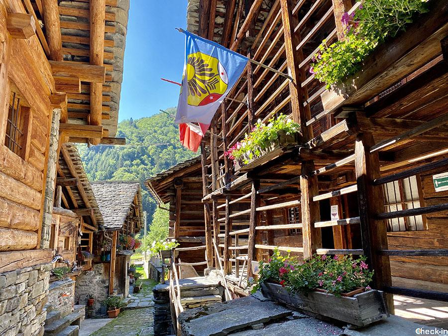 Storia, lingua, cultura e tradizioni Walser a Pedemonte, frazione di Alagna Valsesia