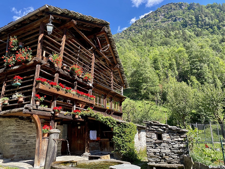Borghi caratteristici in Piemonte: Pedemonte (Alagna Valsesia)