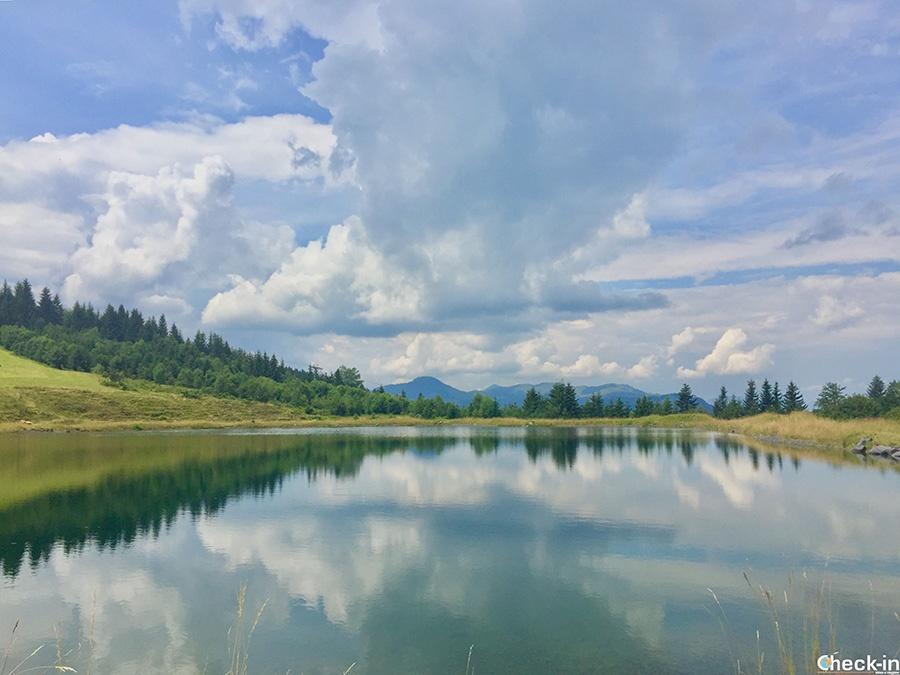 8 laghi da vedere in Tirolo: Schlosserbergsee a St Johann