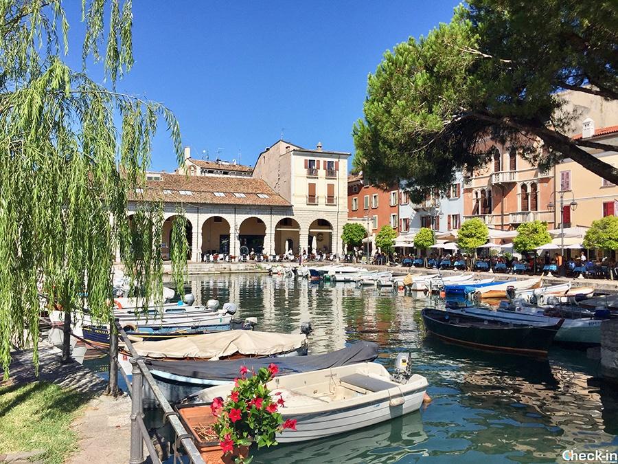 Beautiful corners around Garda Lake: Desenzano Old Pier