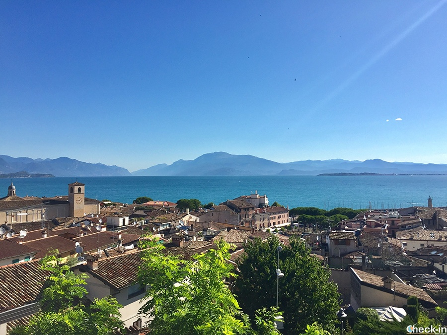Holiday on the shore of Lake Garda in northern Italy