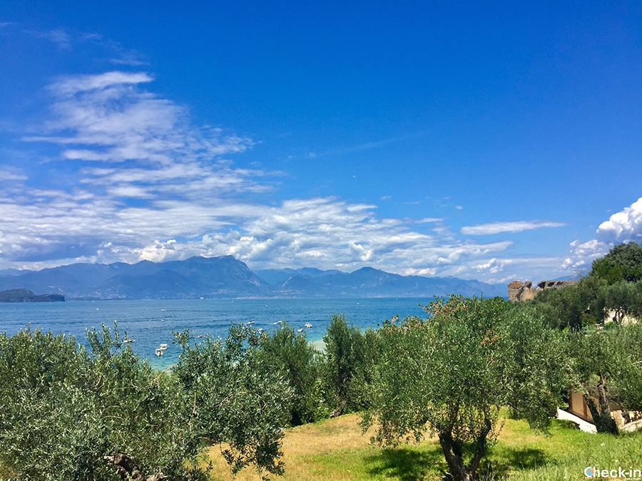 """Archeological area and historical heritage in Sirmione: """"Catullo Caves"""" (Italy)"""