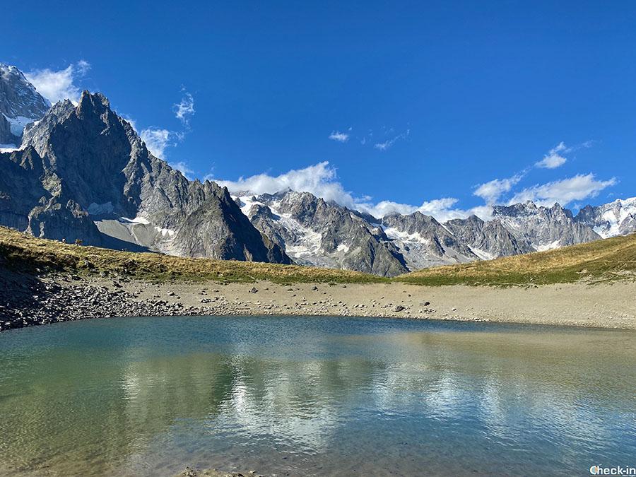 Luoghi da non perdere in Valle d'Aosta: lago Checrouit in Val Veny