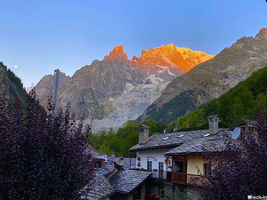 Hotel vicini al Monte Bianco e Funivia Skyway - Locanda La Brenva (confine tra Italia e Francia)
