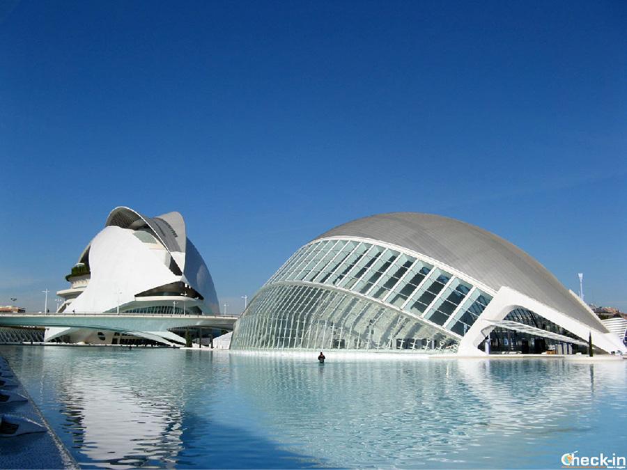 Transporte público para la Ciudad de Artes y Ciencias en Valencia