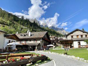Hotel B&B La Grange a Entrèves, alle pendici del Monte Bianco
