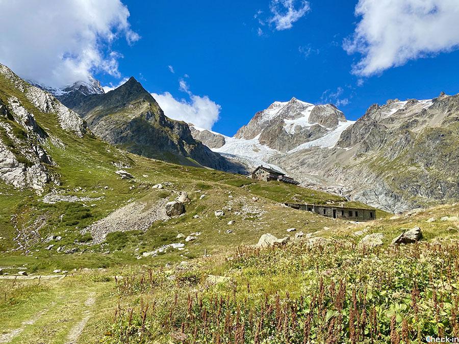 Rifugio Margherita ai piedi del Monte Bianco - Val Veny, Courmayeur