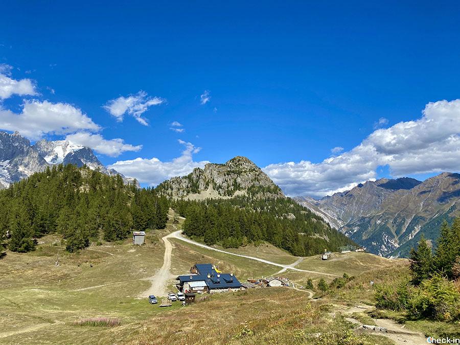 Come arrivare al Rifugio Maison Vieille in Val Veny (Courmayeur)