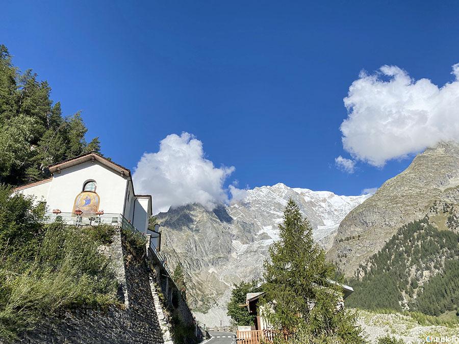 Santuario di Notre-Dame de Guerison in Val Veny - Courmayeur, Italia