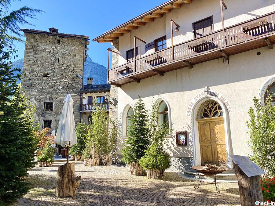 Passeggiata in centro a Courmayeur - Valle d'Aosta