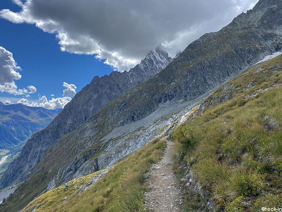 Trekking sul Monte Bianco - Belvedere della Brenva