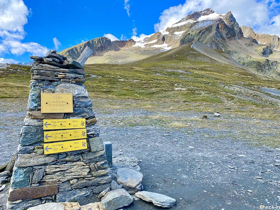 5 escursioni da fare in Valle d'Aosta - Col de la Seigne tra Italia e Francia