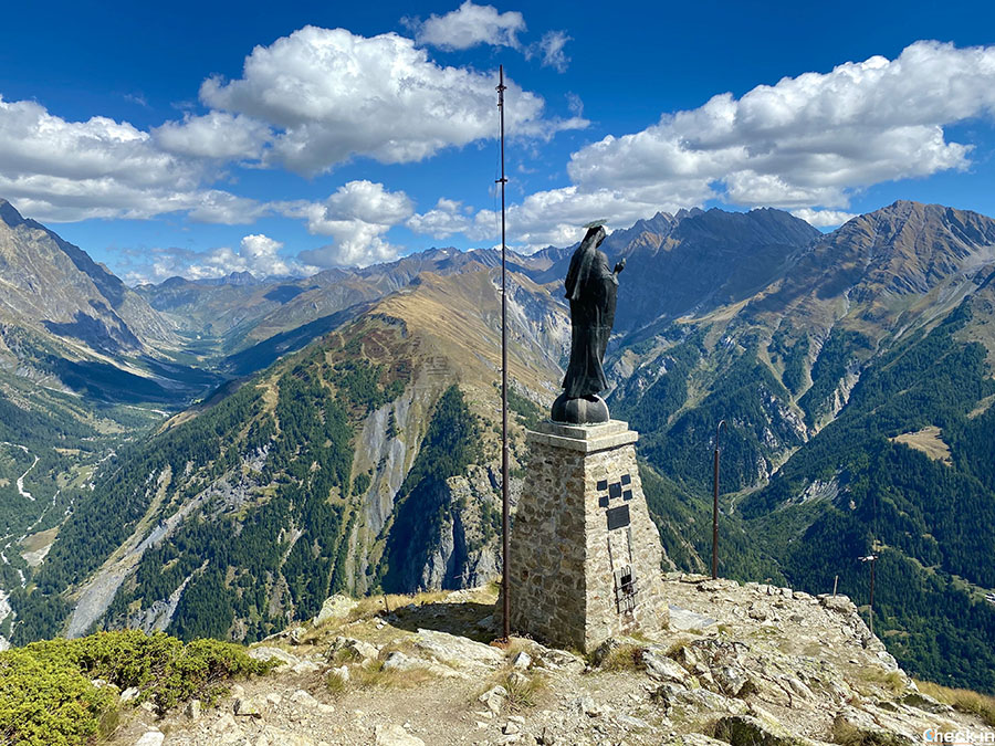 Belvedere Mont Chetif sulla Val Ferret - Courmayeur, Valle d'Aosta