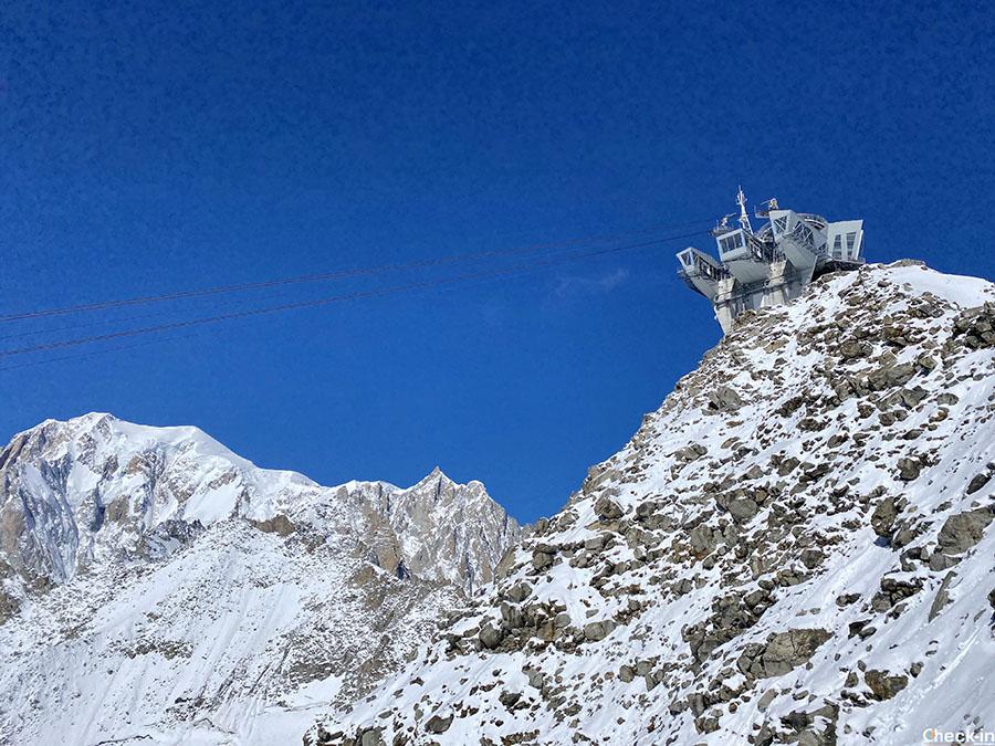 Informazioni sulla Funivia Skyway Monte Bianco a Entrèves (Courmayeur)
