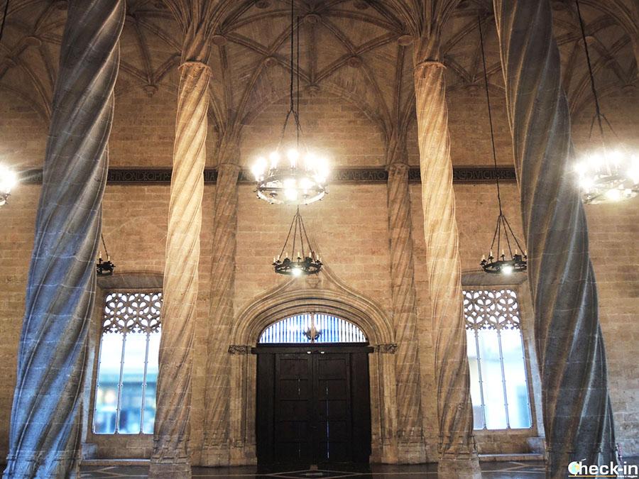 Sitios Patrimonio de la Humanidad por la UNESCO en España: Lonja de la Seda (Valencia)