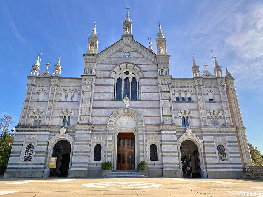 Santuario di NS di Montallegro (612 m) a Rapallo - Provincia di Genova, Liguria