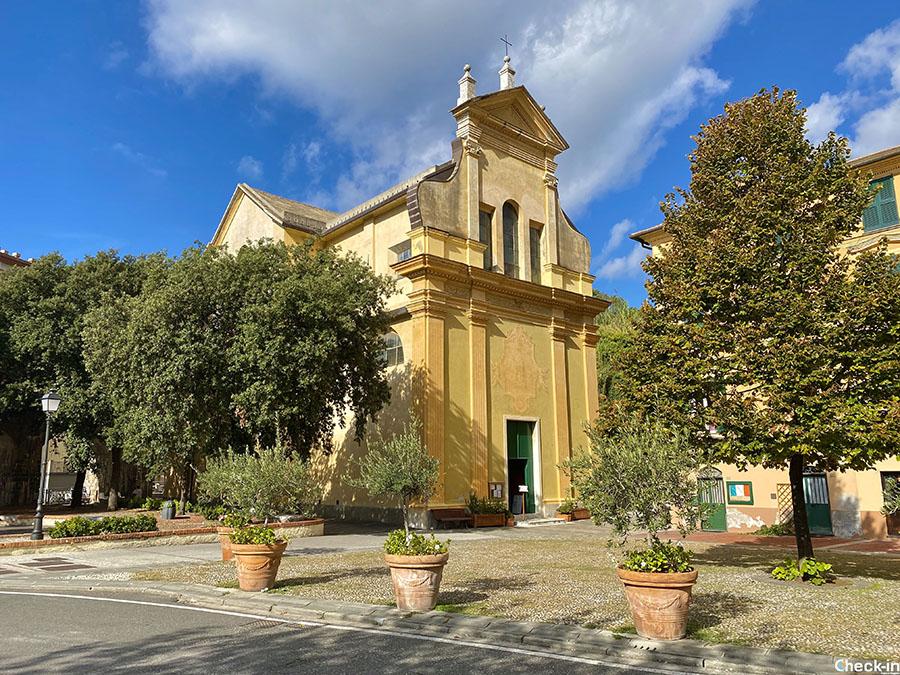 Cosa vedere a Bonassola in giornata: Chiesa di S. Caterina d'Alessandria (Liguria)