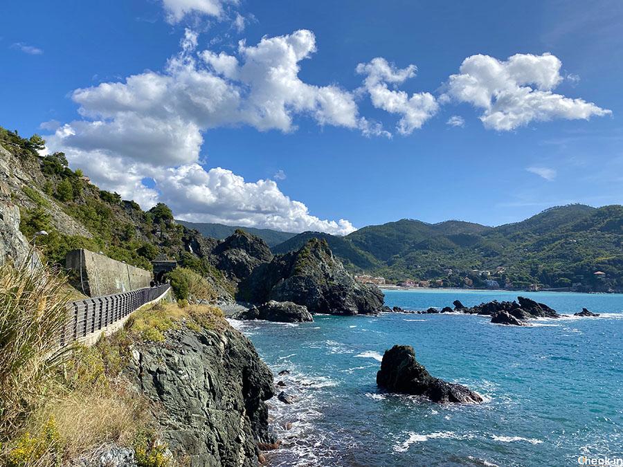 """Migliori passeggiate costiere da fare in Liguria: la """"Maremonti"""" tra Framura e Levanto"""