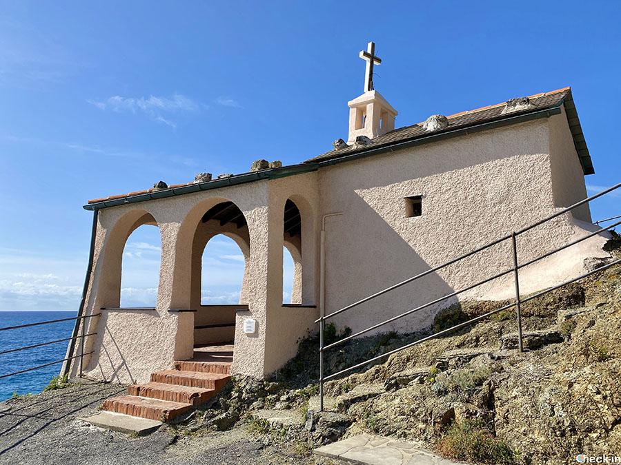 Cappella della Madonnina della Punta a Bonassola - Provincia di La Spezia, Liguria di levante
