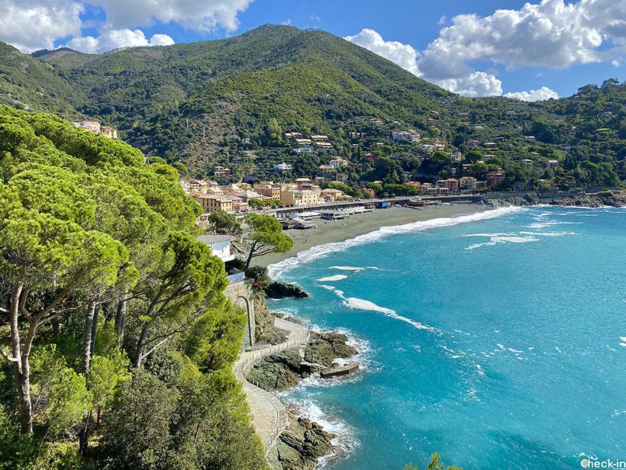 Escursione a Bonassola, tra i borghi più belli della Liguria e d'Italia