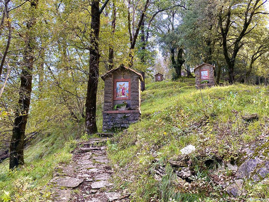 Sentieri CAI vicino a Rapallo: Monte Rosa dal Santuario di Montallegro (Liguria)