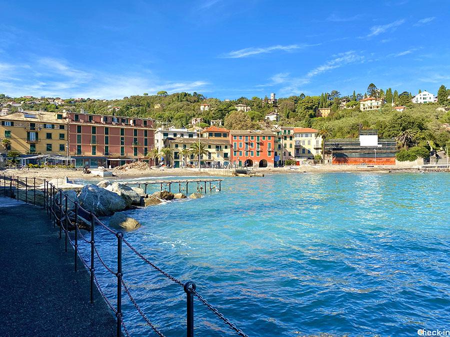 Dove fare il bagno a Rapallo: frazione di S. Michele di Pagana (Liguria)