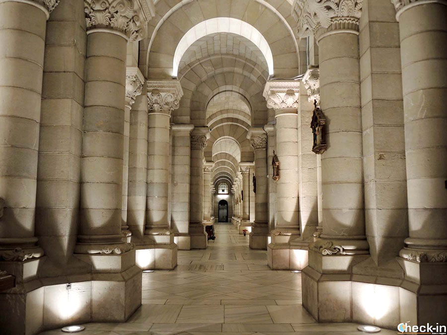 12 sitios alternativos en Madrid: cripta de la Catedral de la Almudena