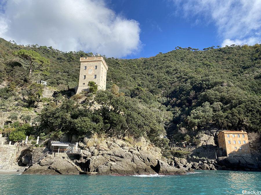 Torre Doria a San Fruttuoso di Capodimonte - Camogli, provincia di Genova