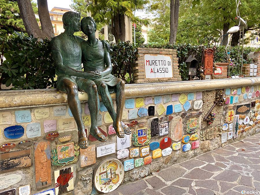 Cosa vedere a Alassio (Liguria) in un giorno: il Muretto