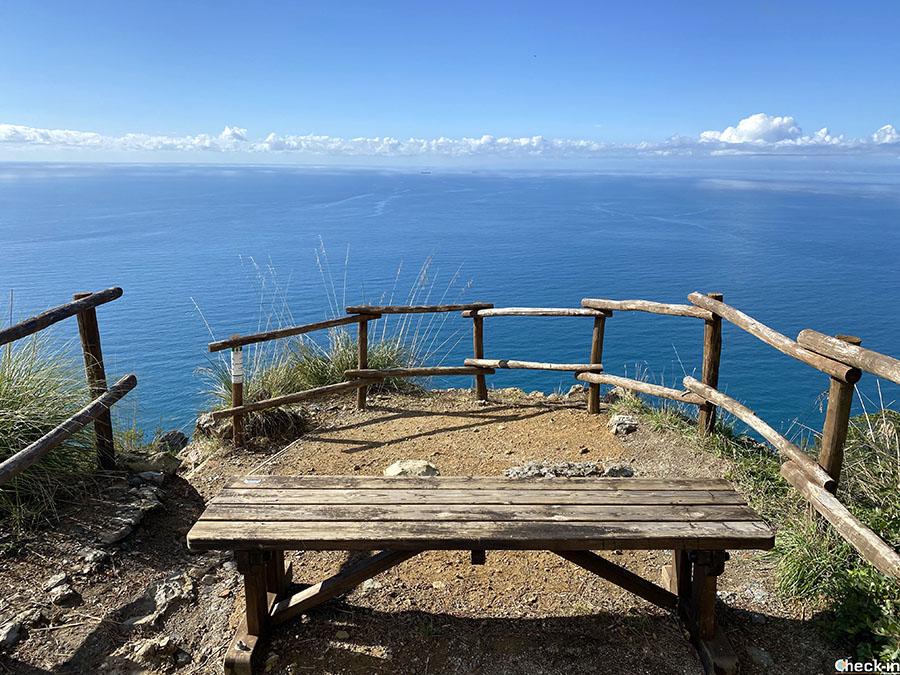 Itinerario per escursionisti da Punta Chiappa a Semaforo Nuovo - Camogli, Liguria