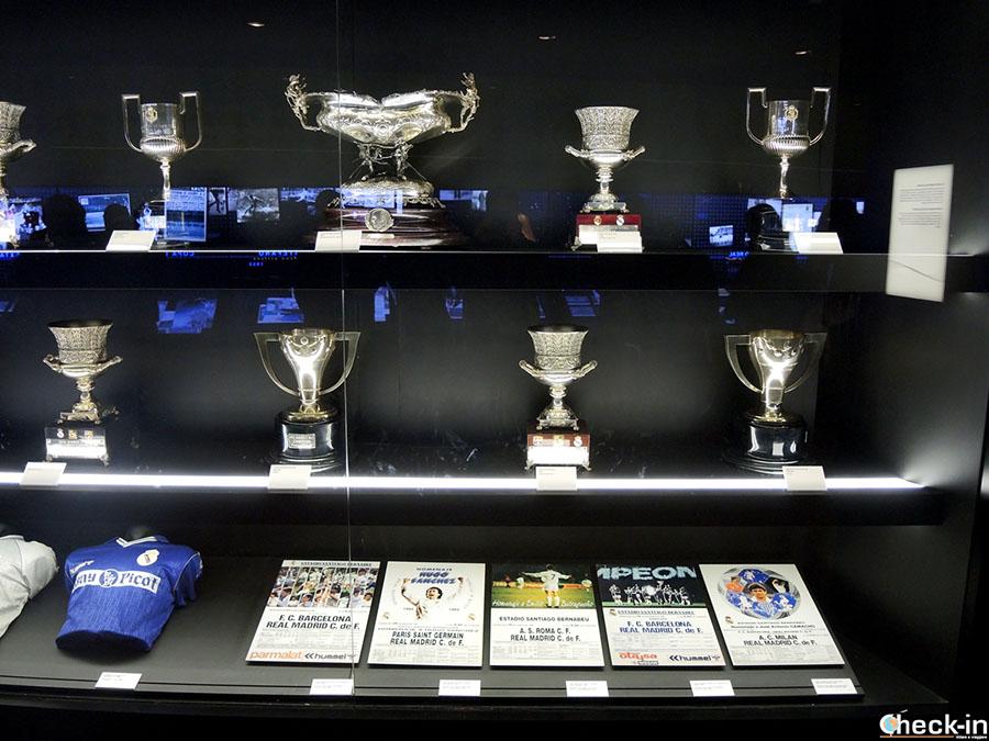 Qué durante el tour por el estadio Bernabéu del Real Madrid