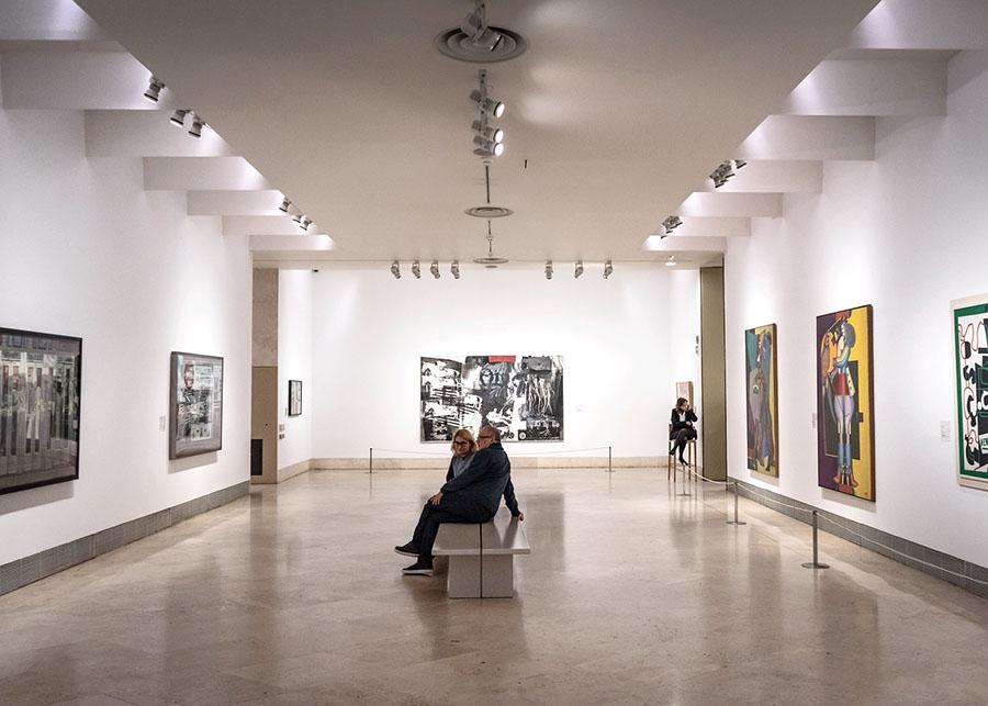Visita del Museo Thyssen-Bornemisza - Paseo del Arte de Madrid (España)
