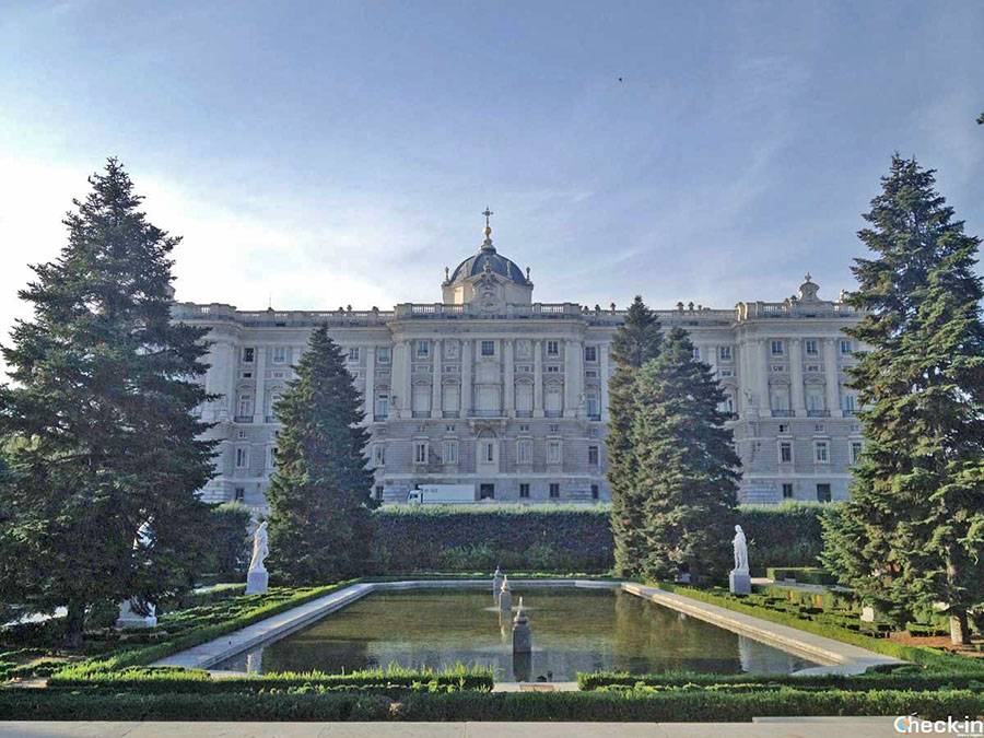 Informaciones para visitar el Palacio Real de Madrid