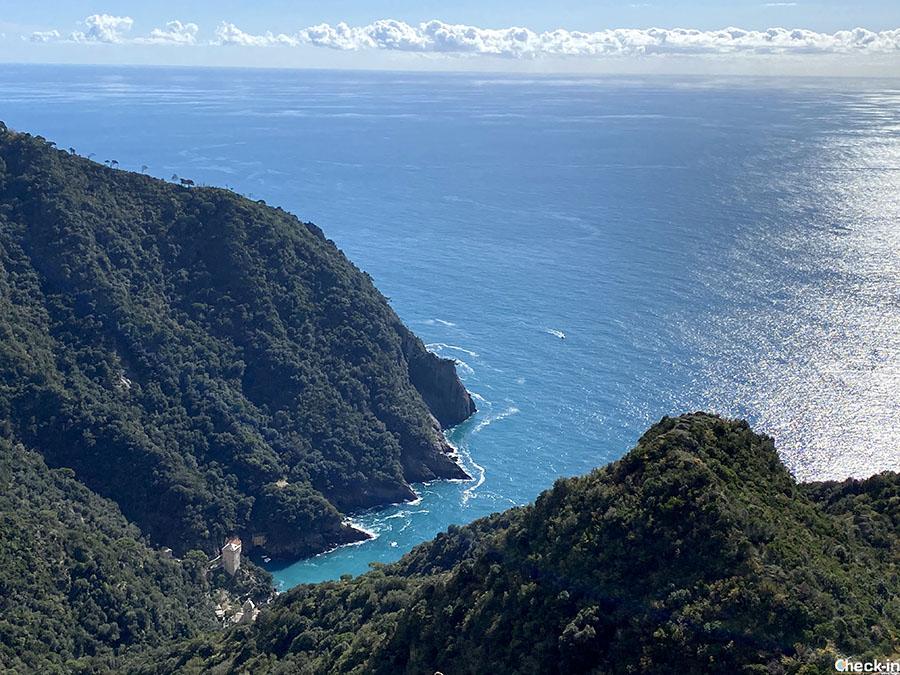 Percorso facile da Toca a Pietre Strette e San Fruttuoso - Camogli, Liguria