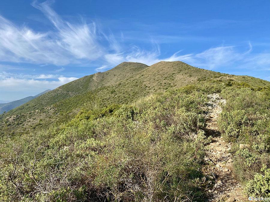 Escursione al monte Croce tra Ceriale e Borghetto S. Spirito - Liguria di ponente
