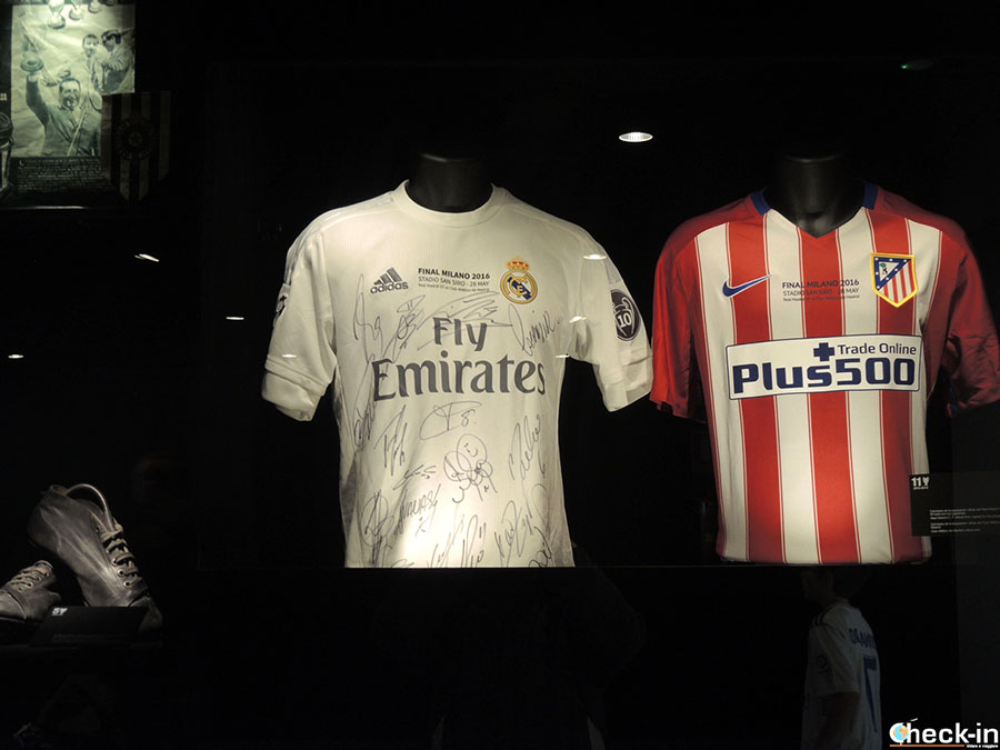 Camisetas del Real Madrid y Atlético Madrid de la final de Champions League en 2016