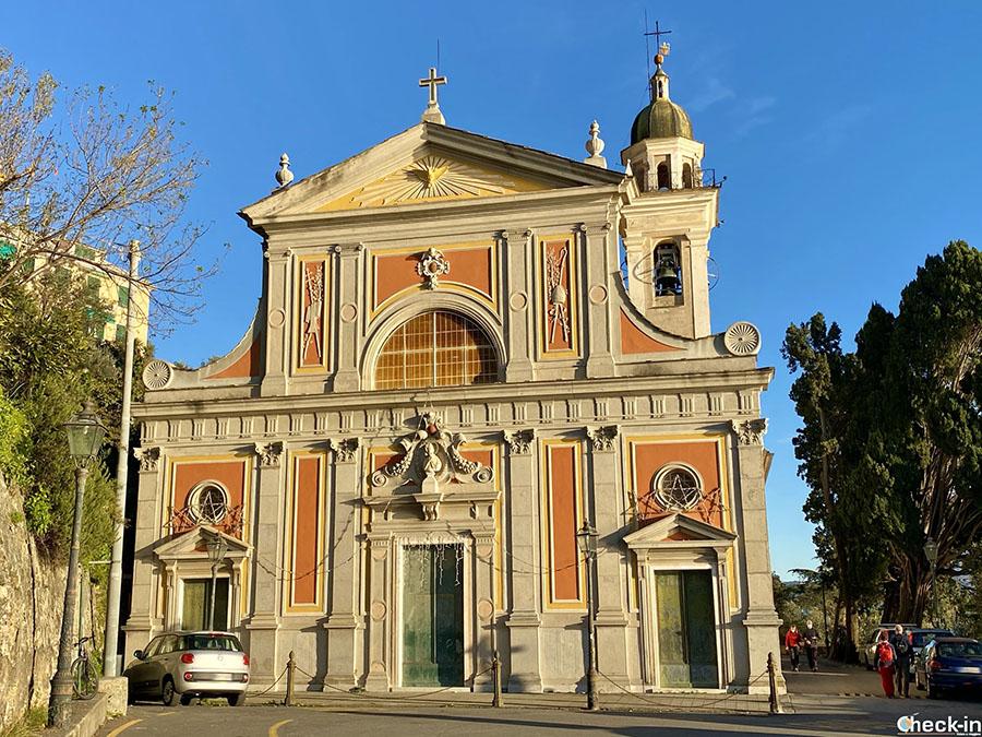 Sentiero da Nervi al monte Giugo con tappa alla Chiesa di Sant'Ilario
