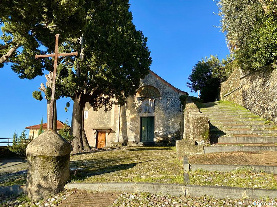 Escursione da Nervi al monte Giugo: Chiesa di S. Nicolò