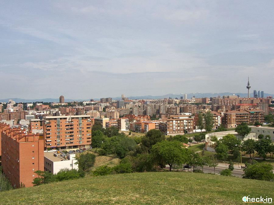 Mejores vistas de Madrid cerca del centro: Parque del Tío Pío