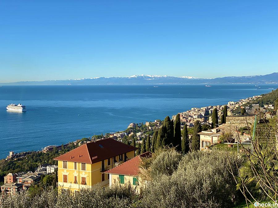 Punti panoramici su Genova: Chiesa di Sant'Ilario