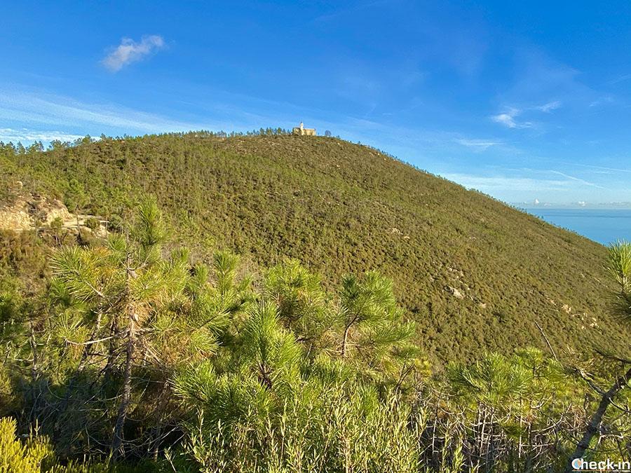 Camminate nella riviera ligure di ponente: monte Grosso di Varazze