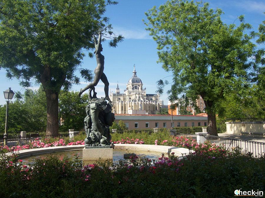 Mejores 9 miradores en Madrid: jardinesd de las Vistillas (España)